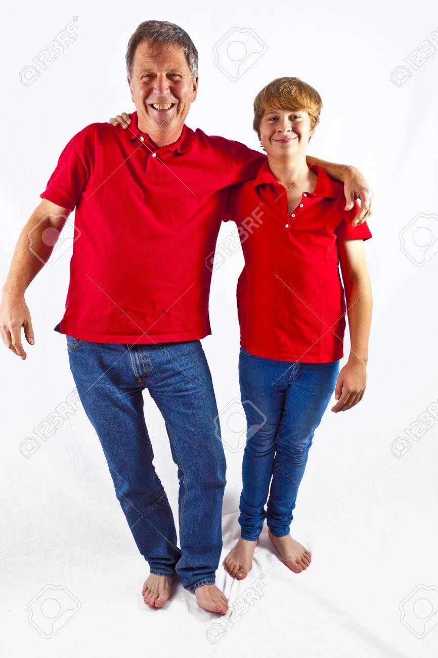 father and son hugging Stock Photo - 10836913