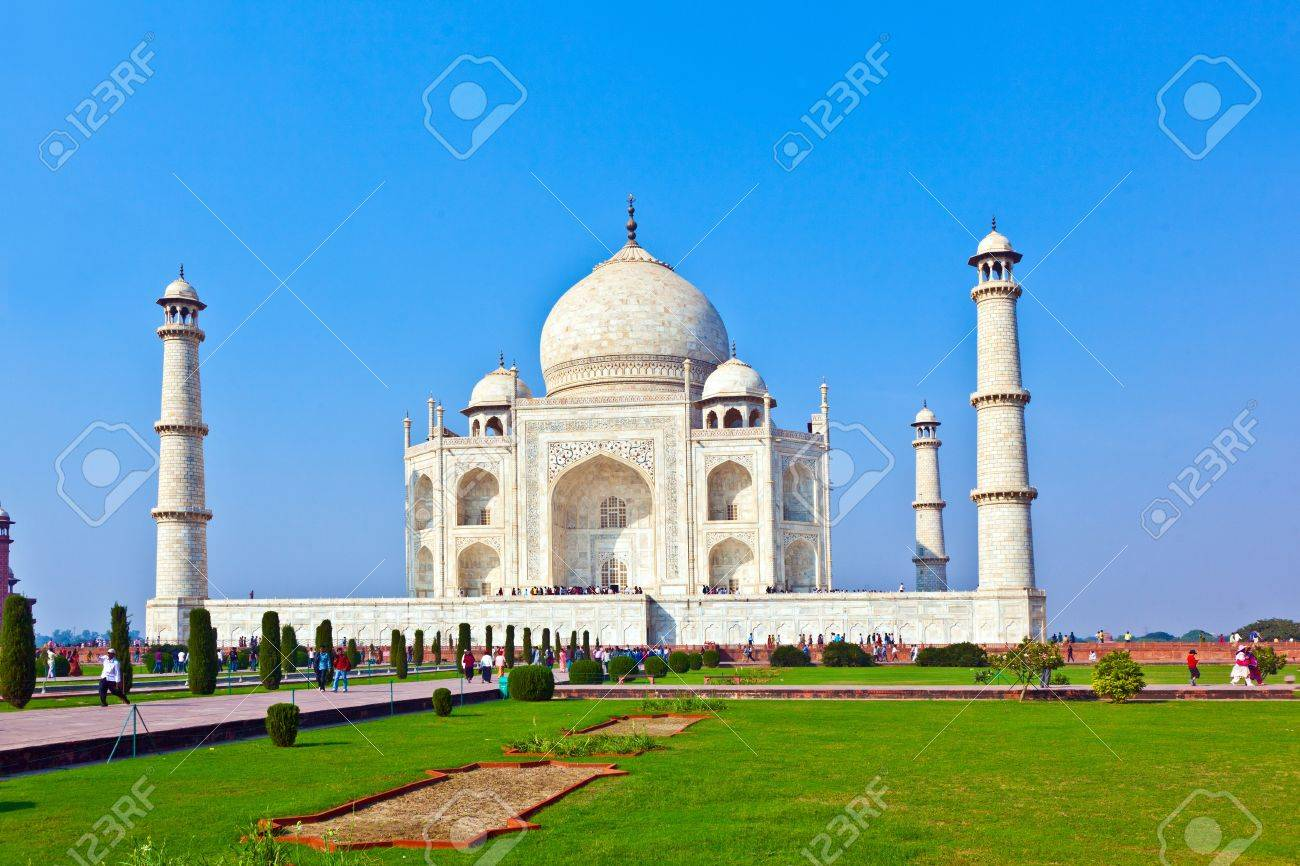 Taj Mahal in India Stock Photo - 11287084