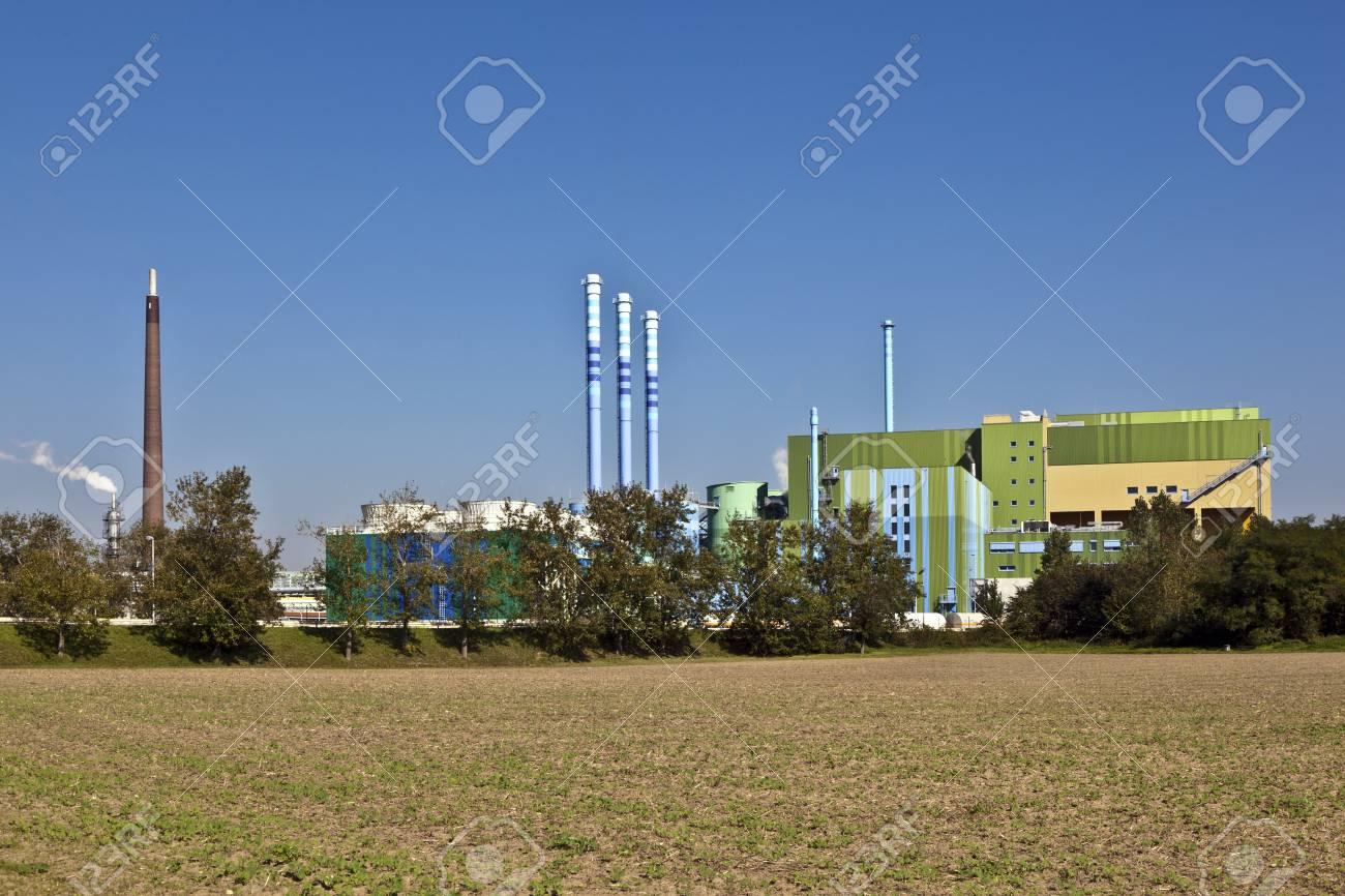 buildings of an Industry Park in beautiful landscape near Frankfurt Stock Photo - 13730810