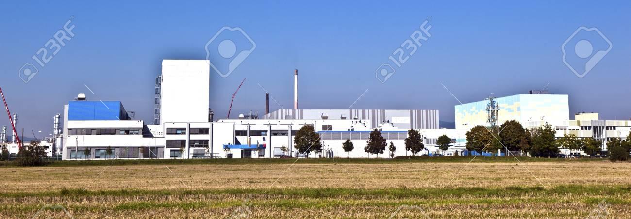buildings of an Industry Park in beautiful landscape near Frankfurt Stock Photo - 13743994