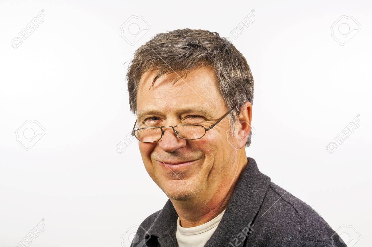 smiling man isolated on a white background Stock Photo - 16764761