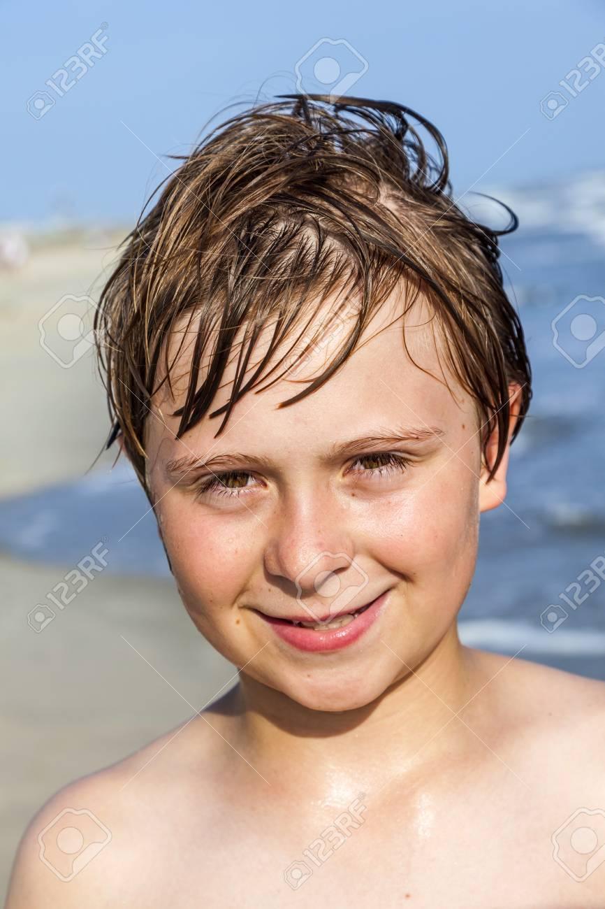 Boy Wet Hair