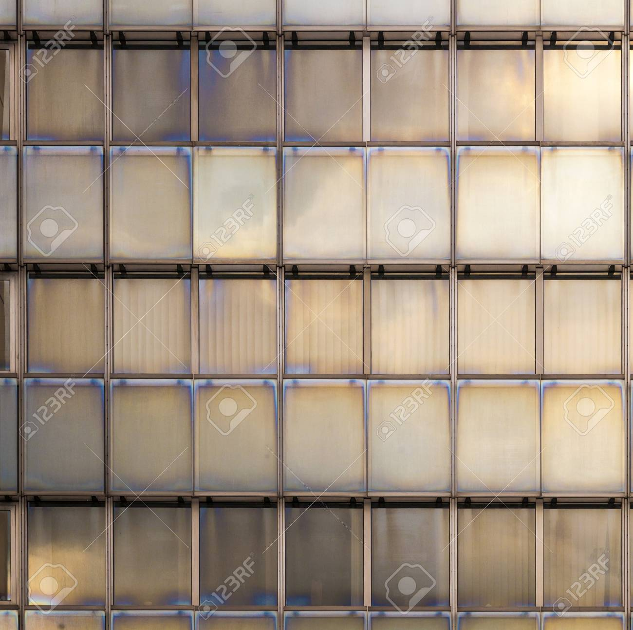 reflection of sky and clouds in a facade of a skyscraper Stock Photo - 17551028