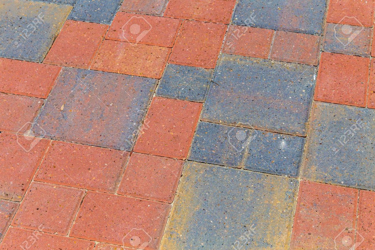 bricks at the floor give a harmonic pattern Stock Photo - 21378584