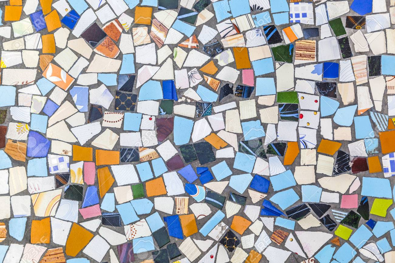 Broken tiles are reused for a floor in india stock photo picture broken tiles are reused for a floor in india stock photo 28994843 dailygadgetfo Gallery