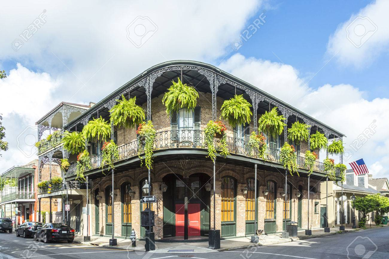 historic building in the French Quarter - 30174043