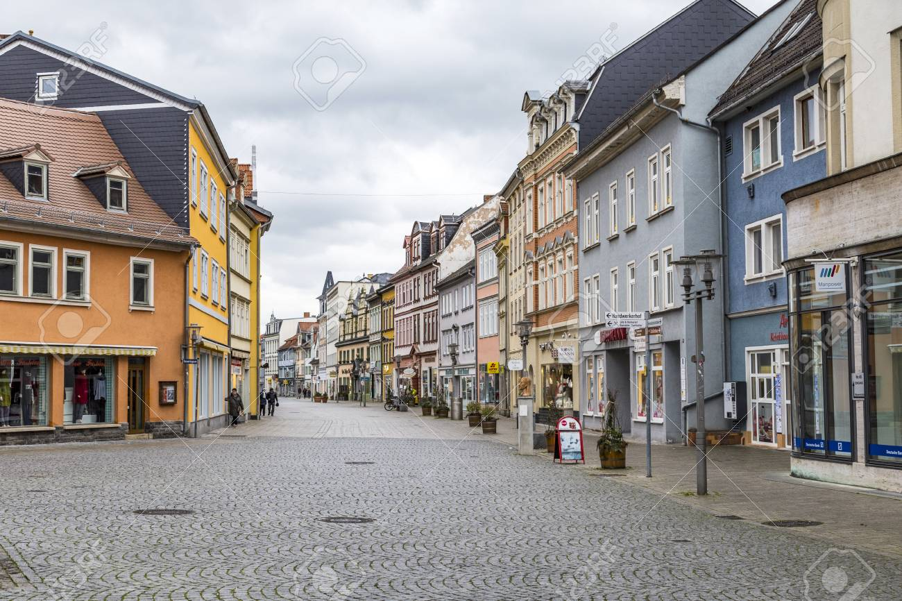 Обои улица, Гёттинген, германия, Germany, здания, Gottingen, street. Города foto 18