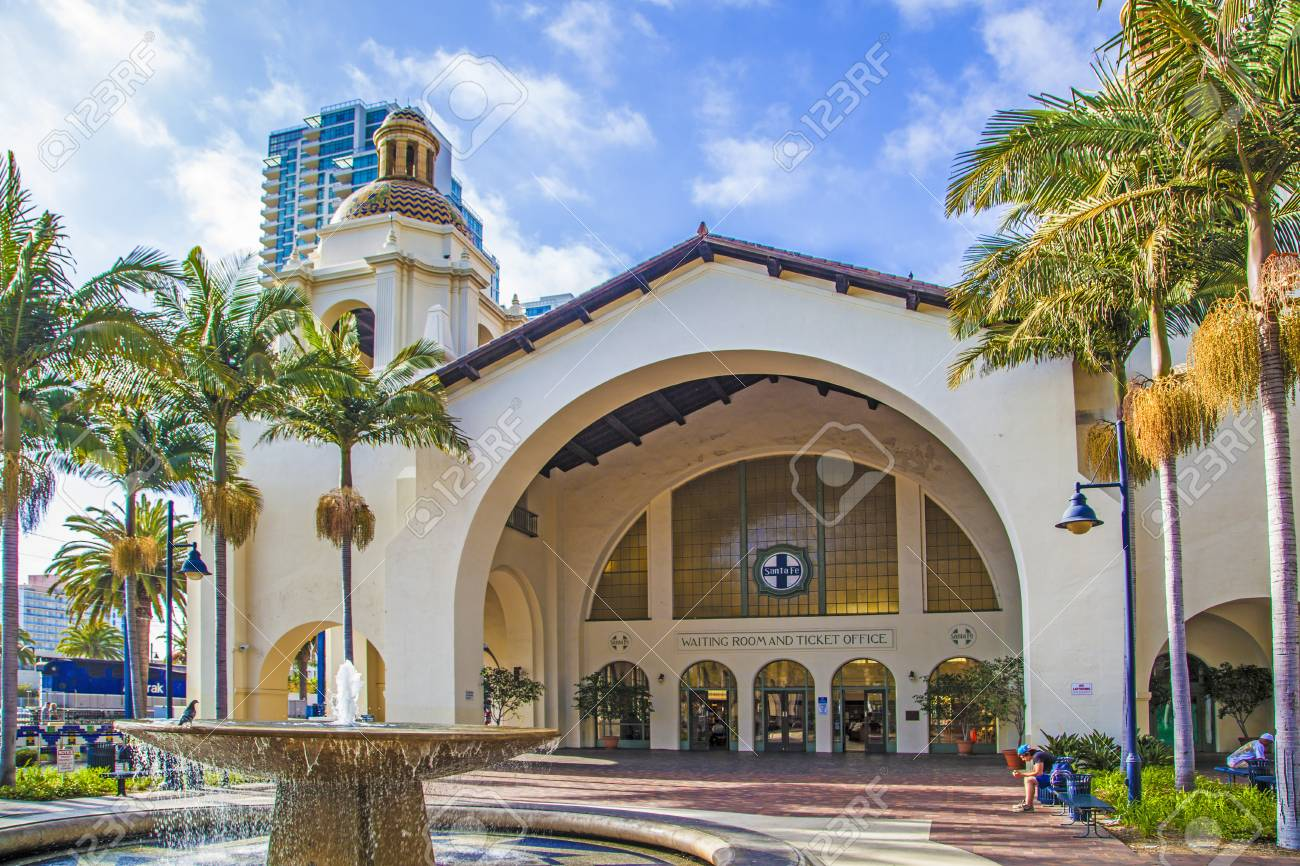 San Diego Usa June 11 2012 Famous Union Station In San Diego