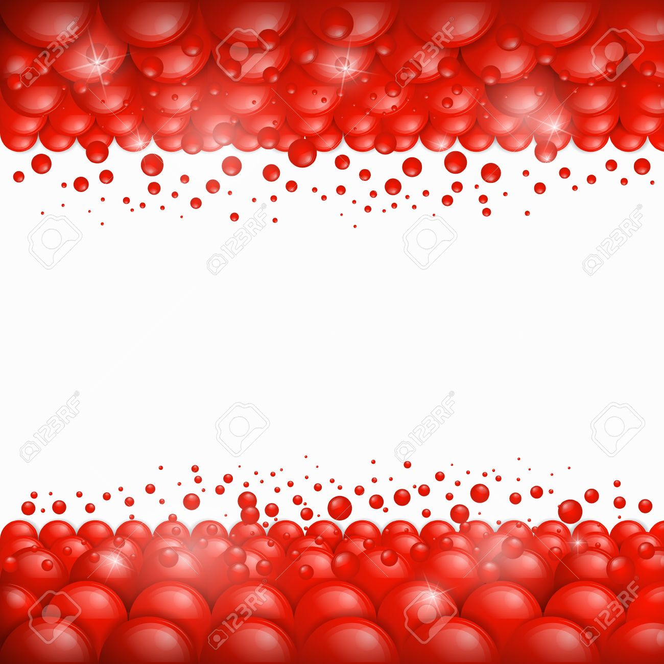 vector background red bubbles theme royalty free cliparts vectors