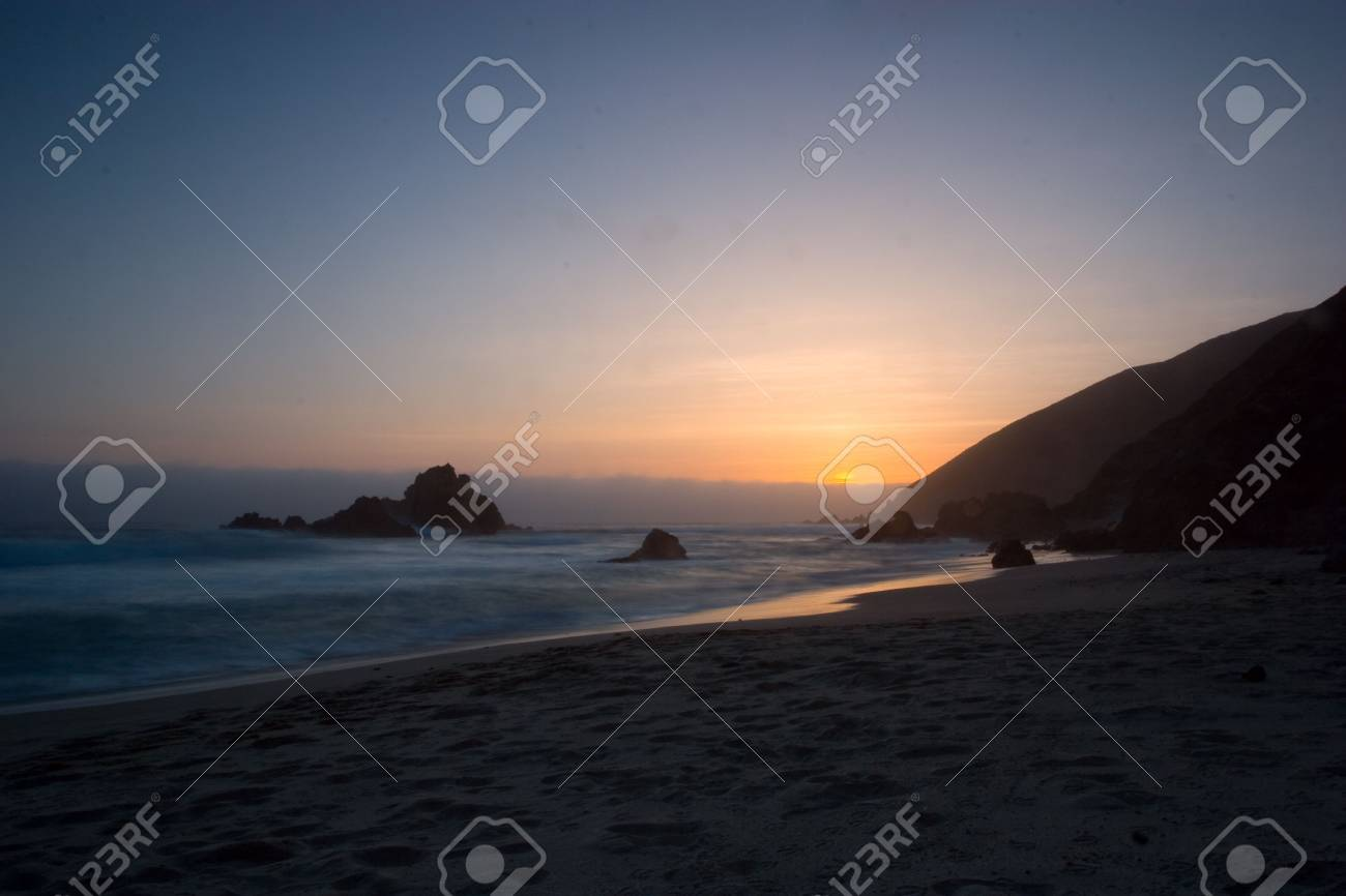 Big Sur Sunset Stock Photo - 2822554