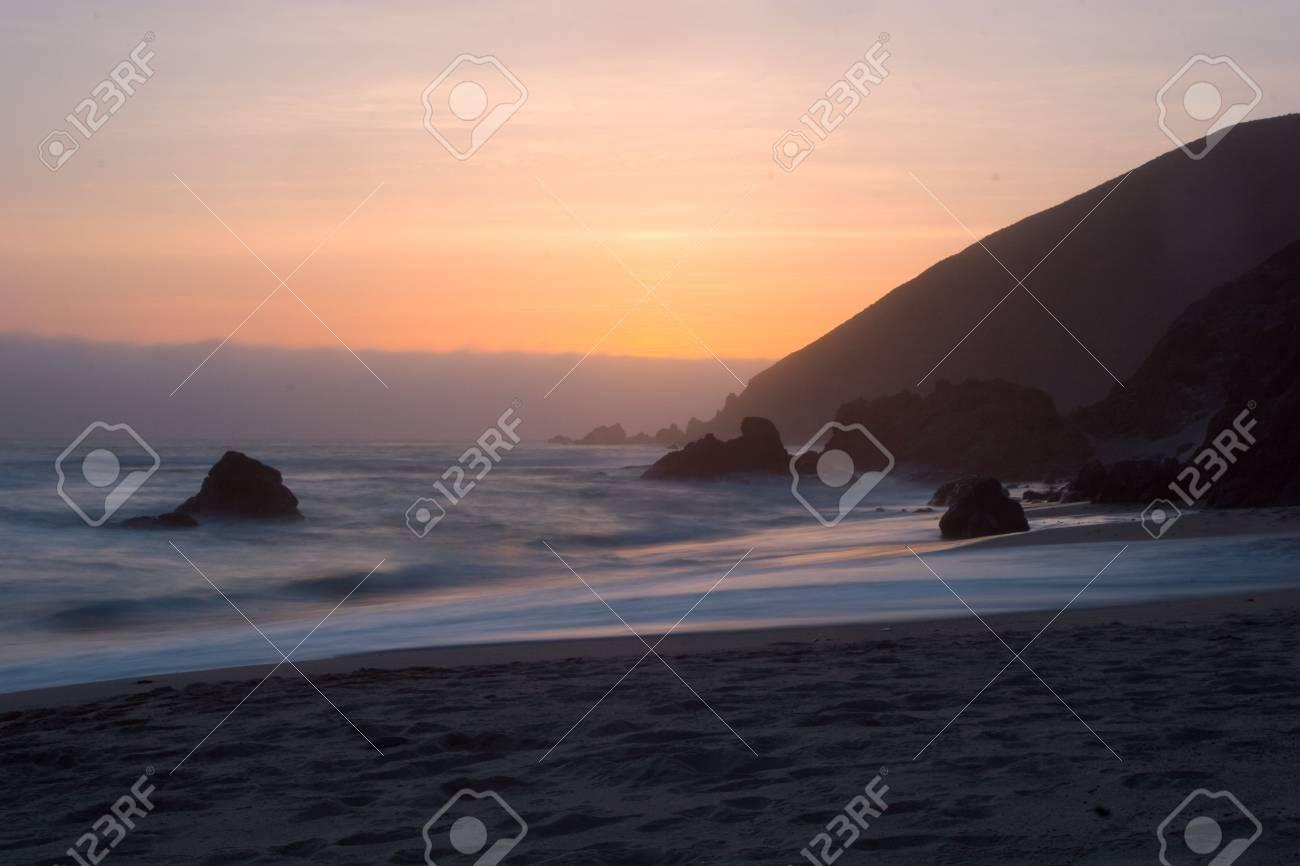 Big Sur Sunset Stock Photo - 2822555
