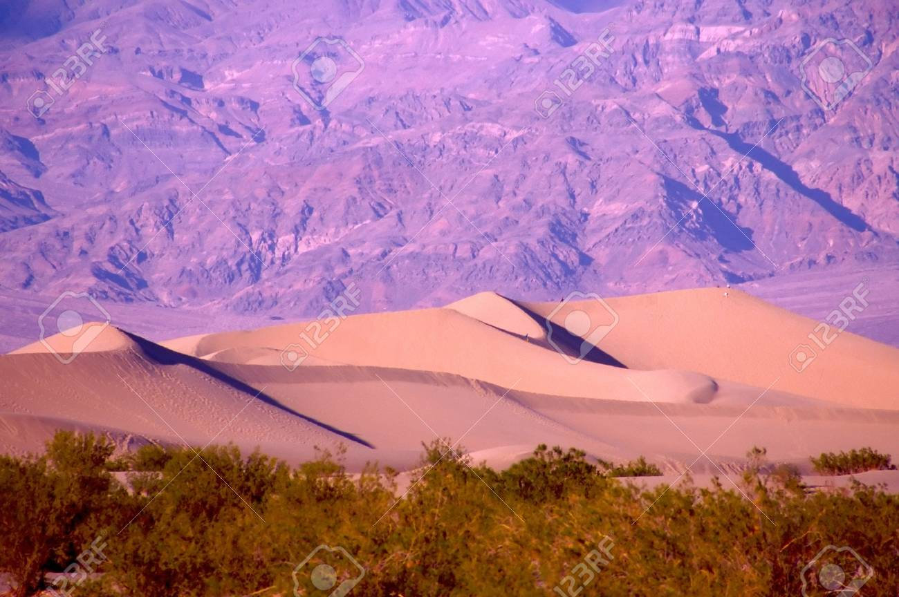 Death Valley is the lowest, driest and hottest valley in the United states. It is the location of the lowest elevation in Western hemisphere - 2897514