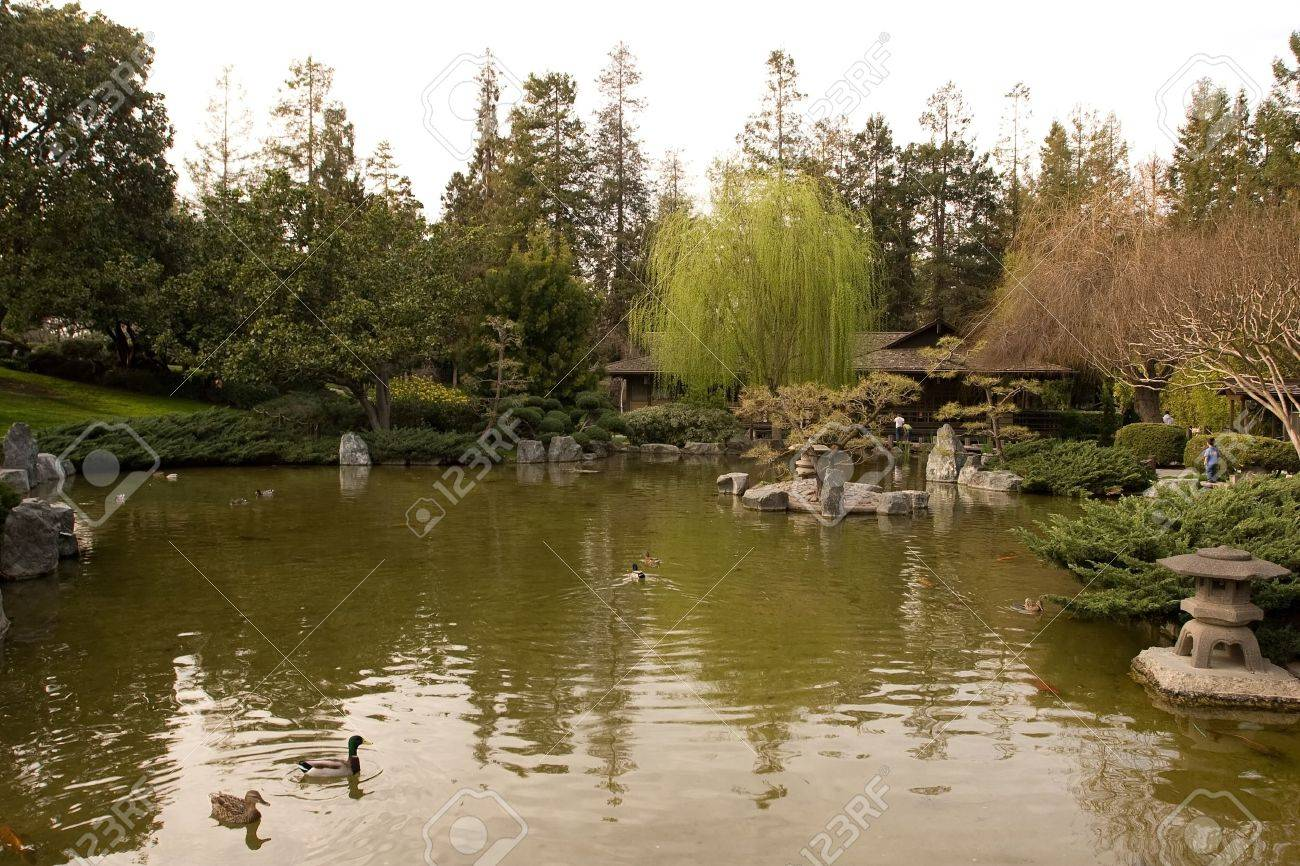 Japanese Friendship Garden Is A Walled Section Of Kelley Park ...
