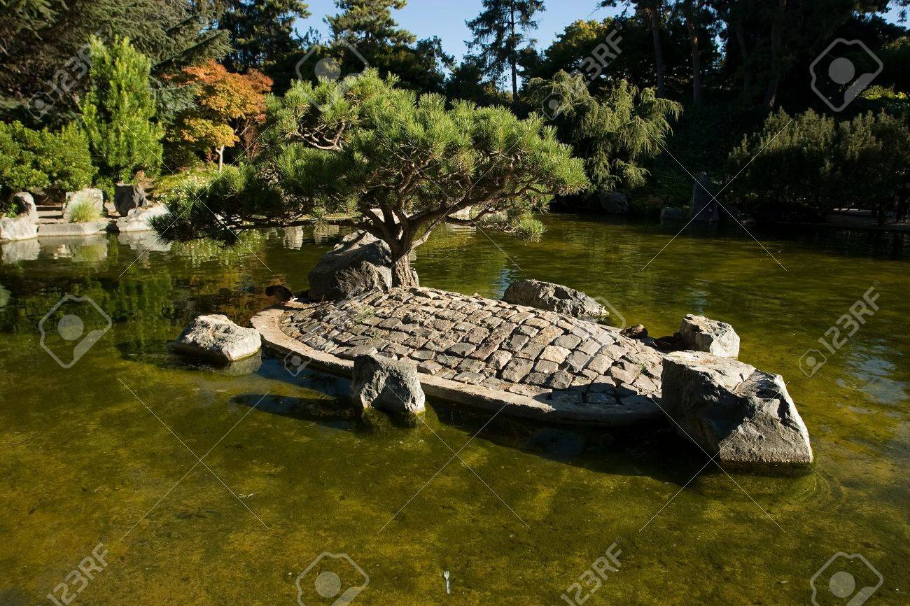 the japanese friendship garden is a walled section of kelley..
