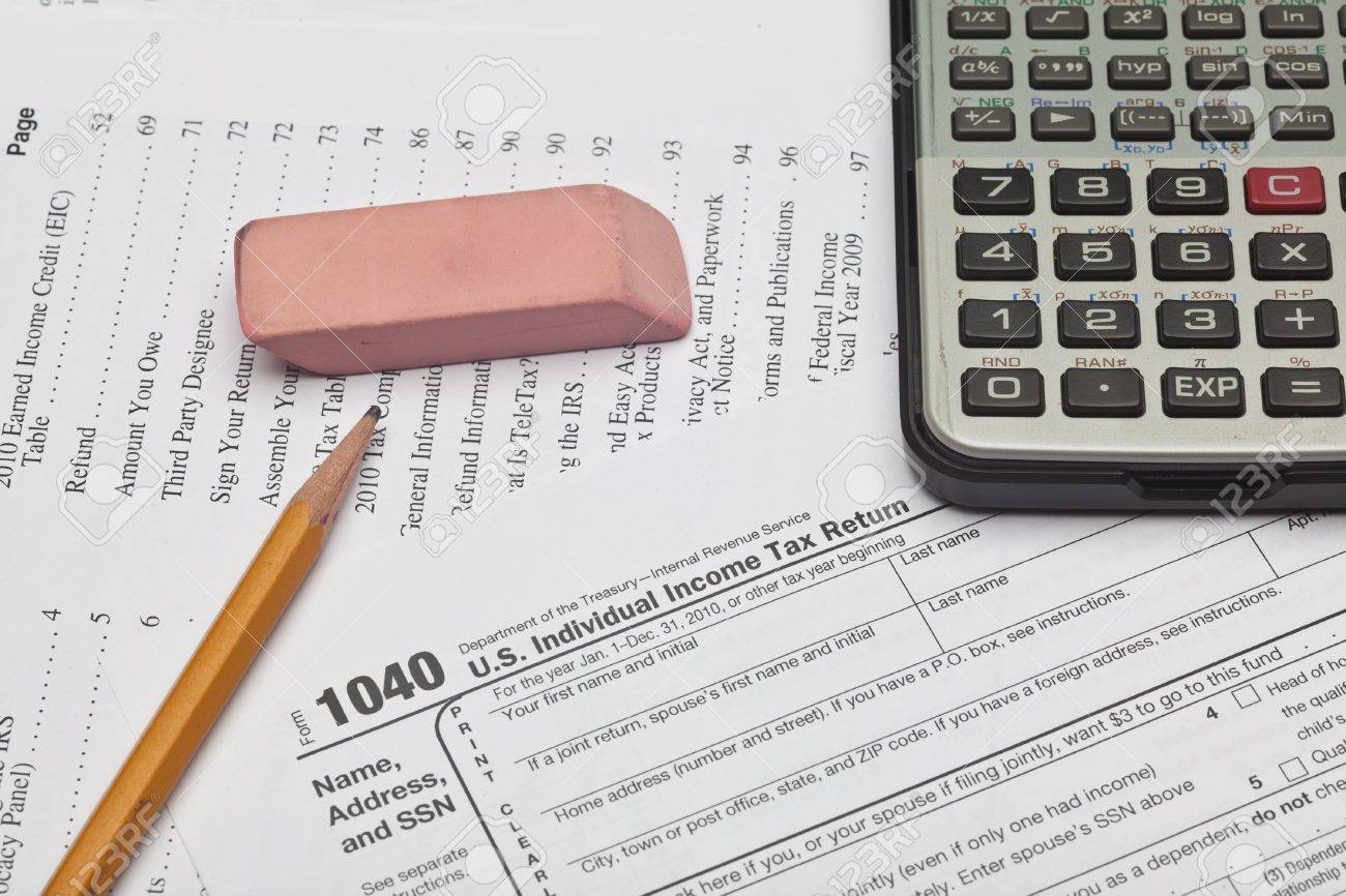 The Form 1040 Us Individual Income Tax Return Is The Starting