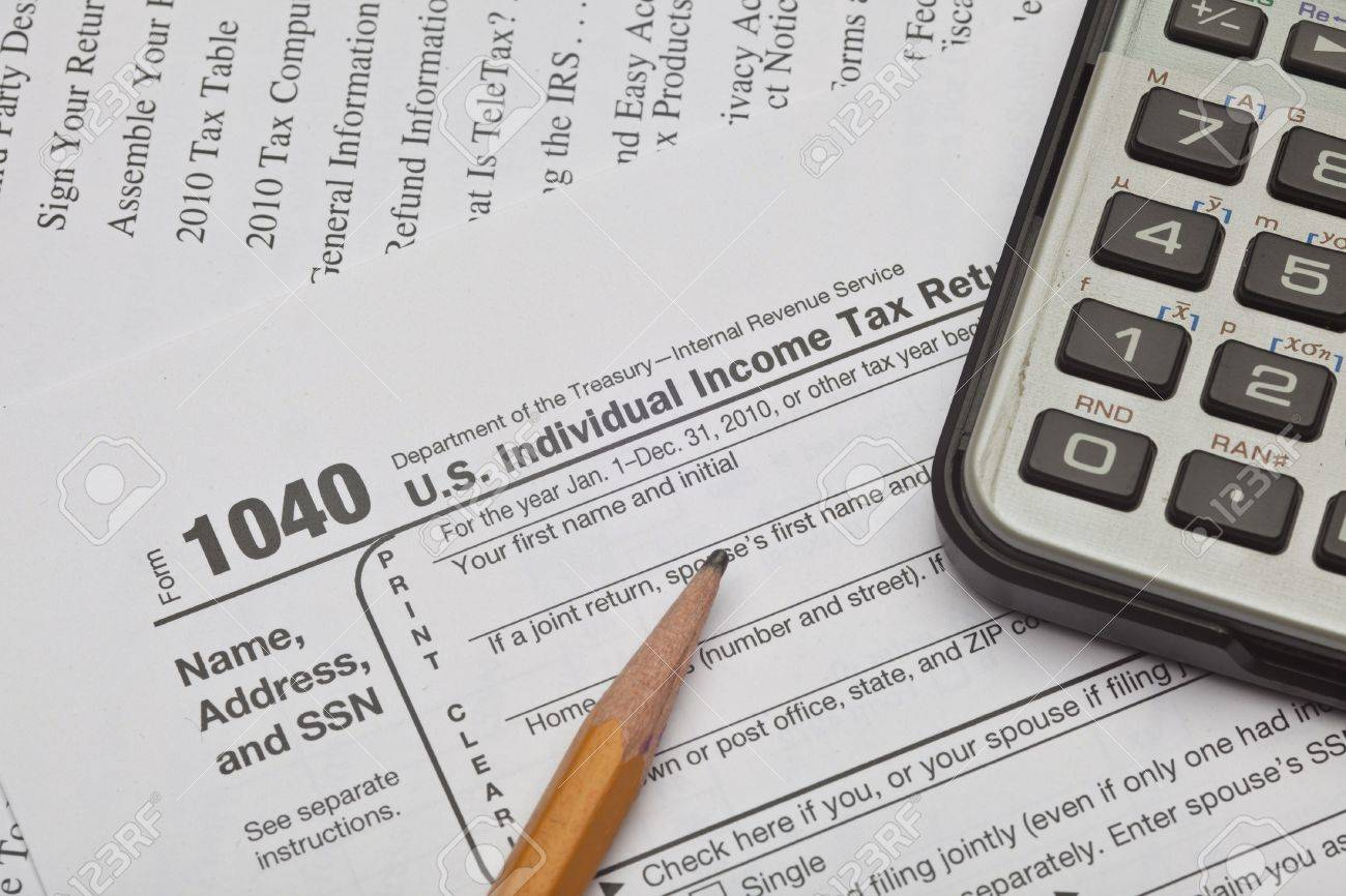 The form 1040, u. S. Individual income tax return, is the starting.