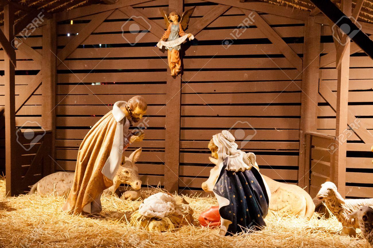 Nativity Scene Is A. Best 25 Wall Murals ...