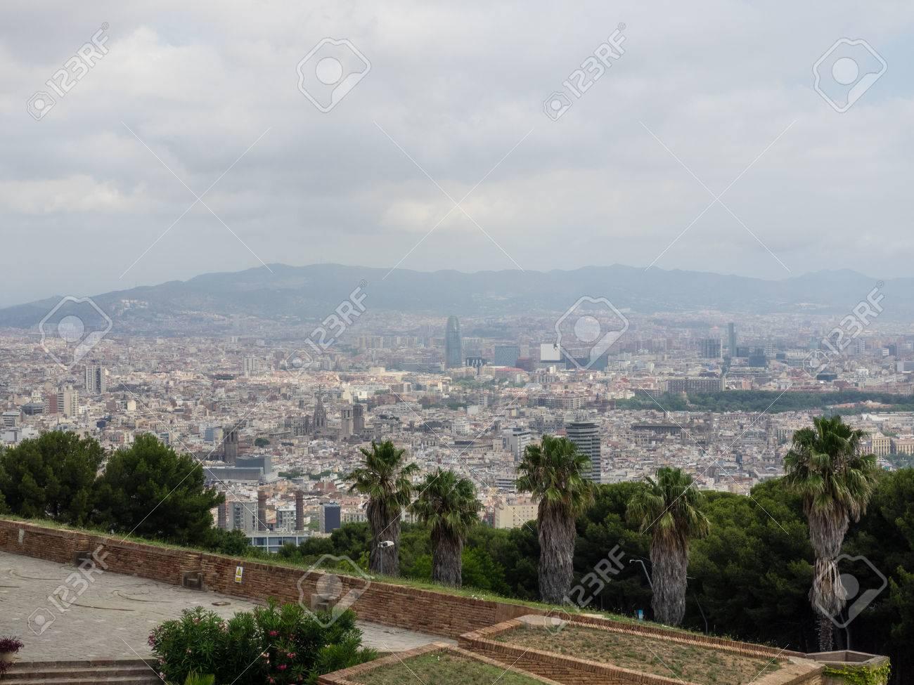 Wonderful Montjuïc Castle Is An Old Military Fortress Built On Top Of Montjuïc