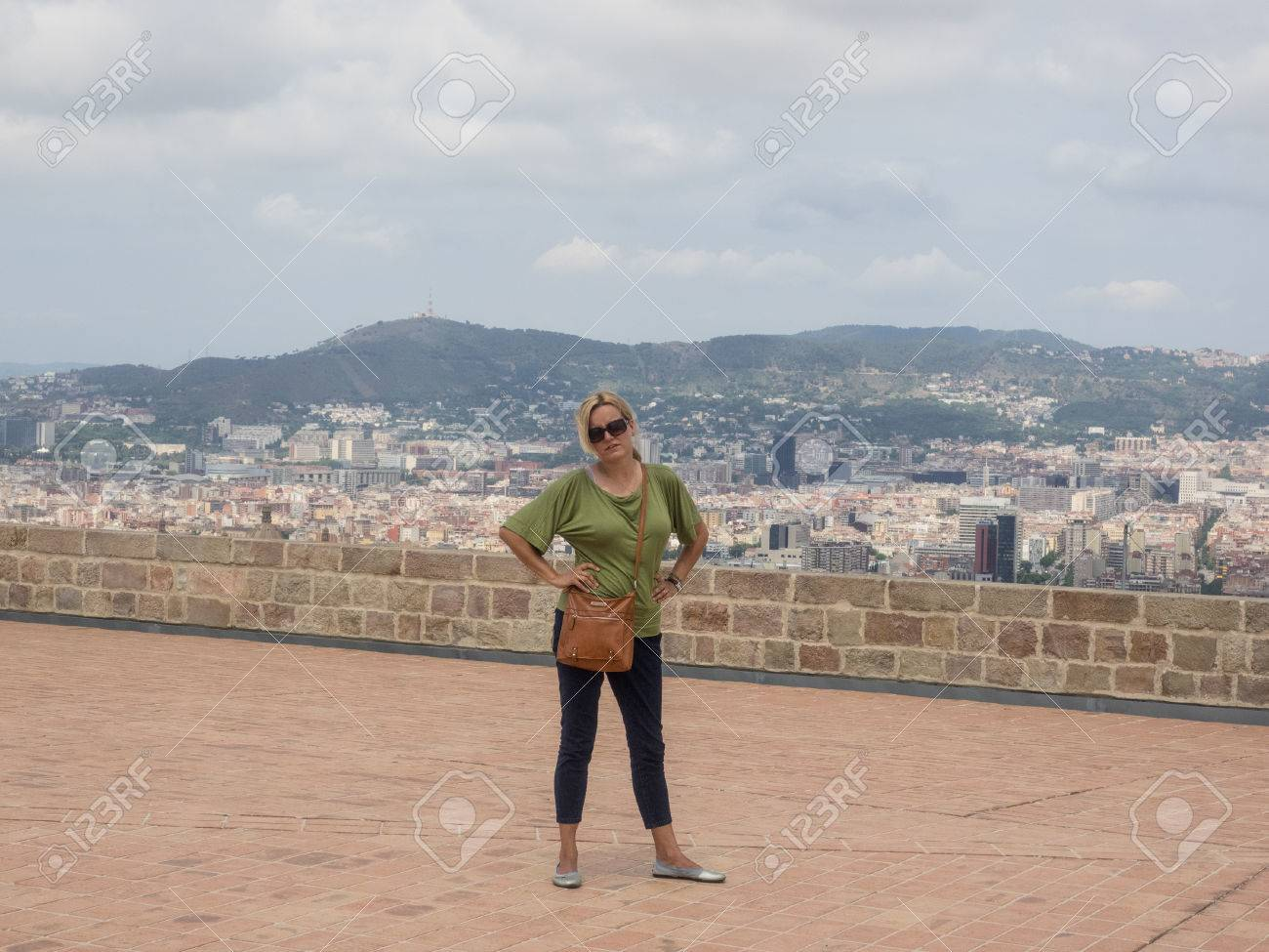 Montjuïc Castle Is An Old Military Fortress Built On Top Of Montjuïc