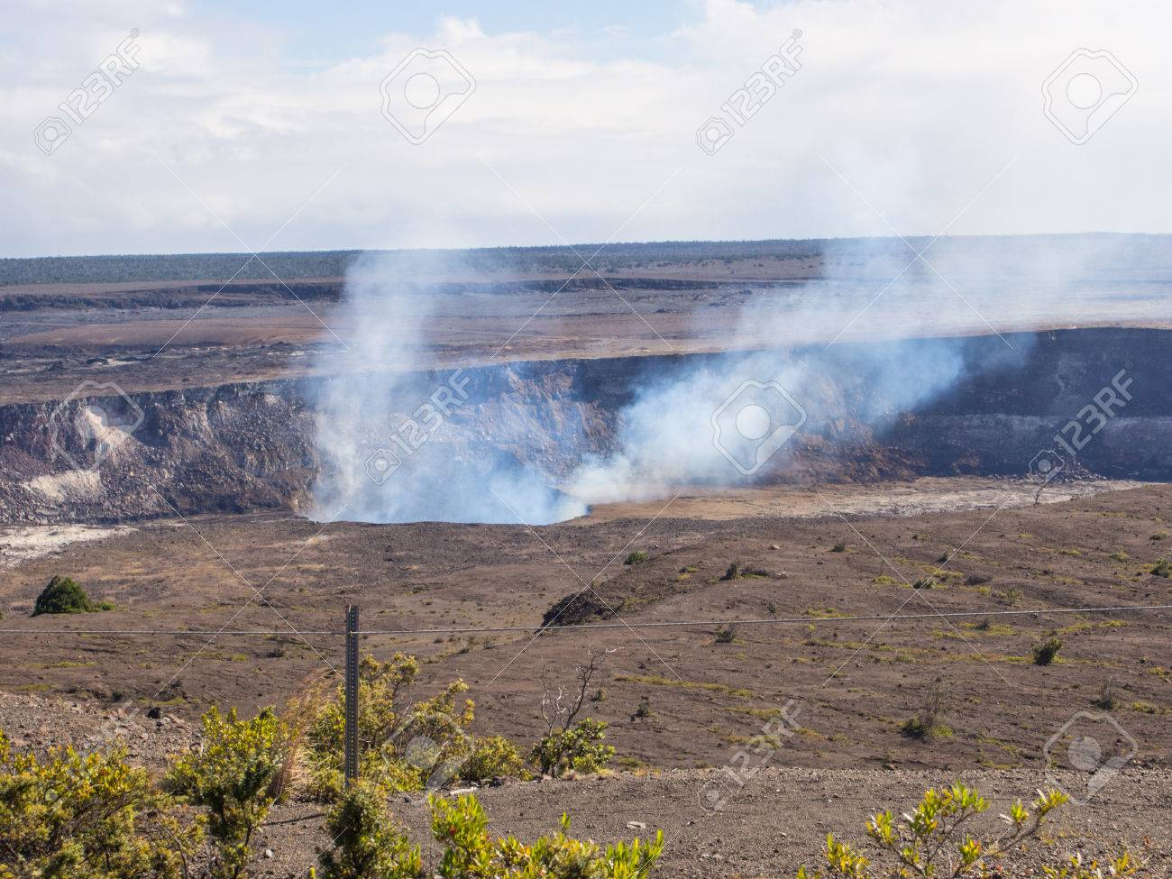 Kilauea is a currently active shield volcano in the Hawaiian