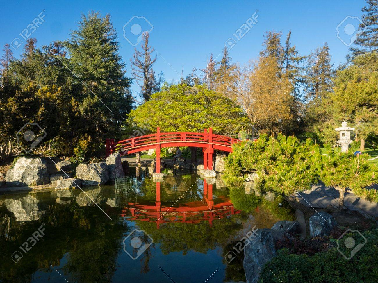 japanese friendship garden is a walled section of kelley park..