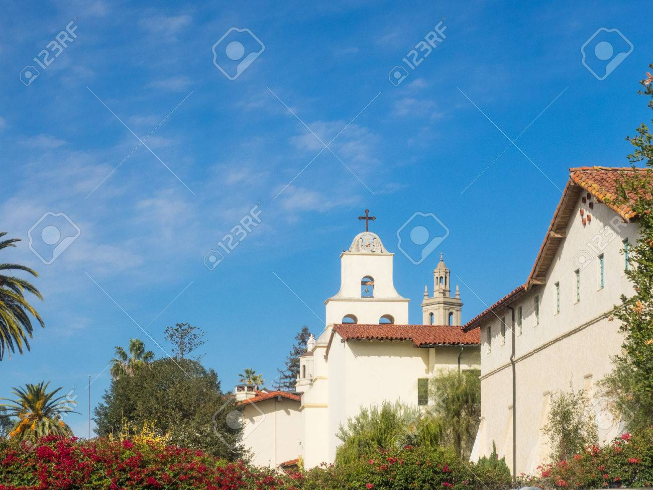 Mission Santa Barbara Is A Spanish Mission Founded By The Franciscan ...