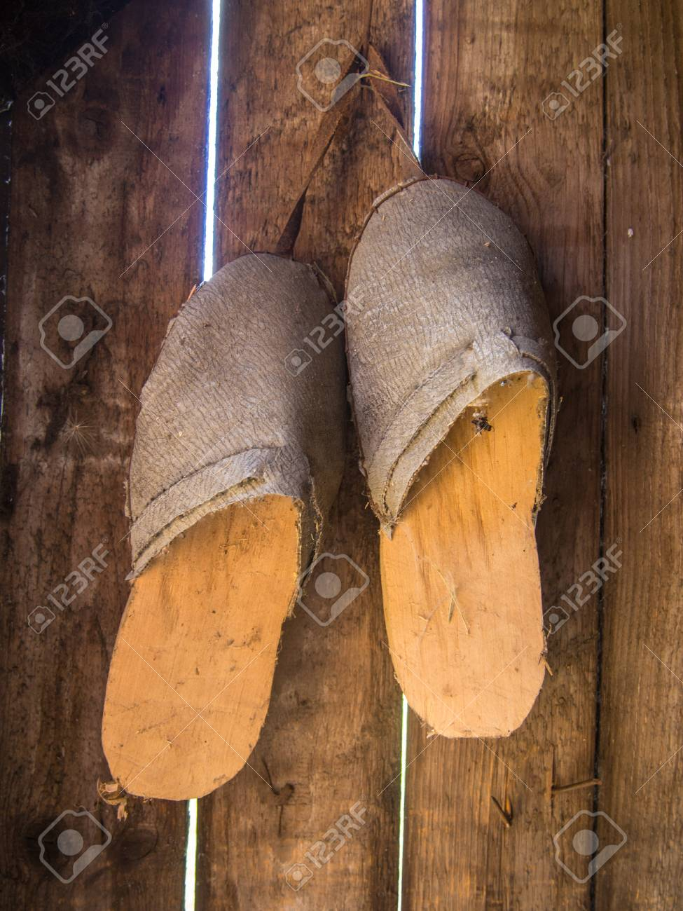 Clogs Are A Type Of Footwear Made In Part Or Completely From Stock