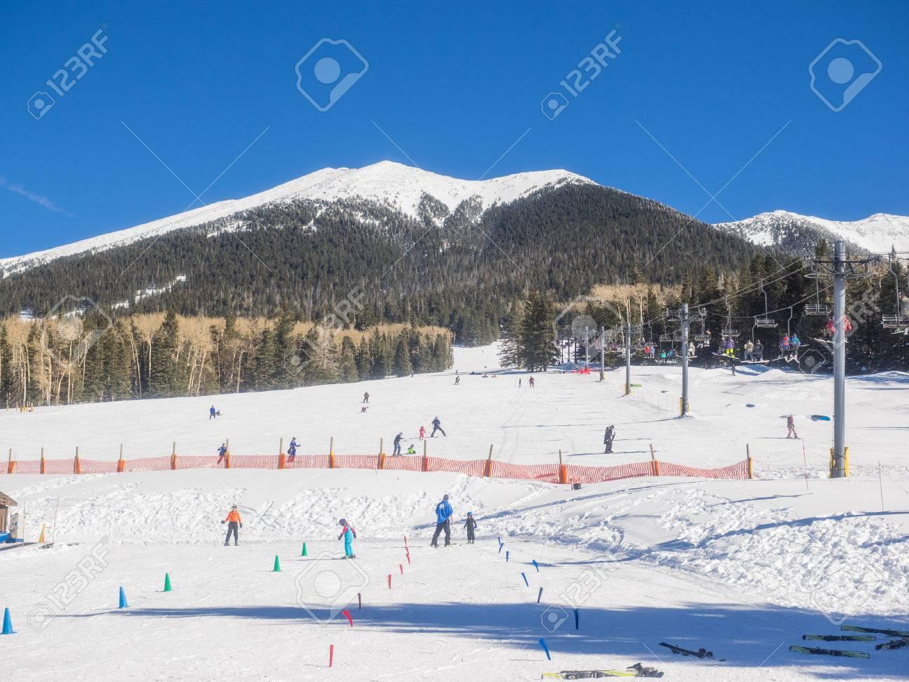 arizona snowbowl is an alpine ski resort located on the san