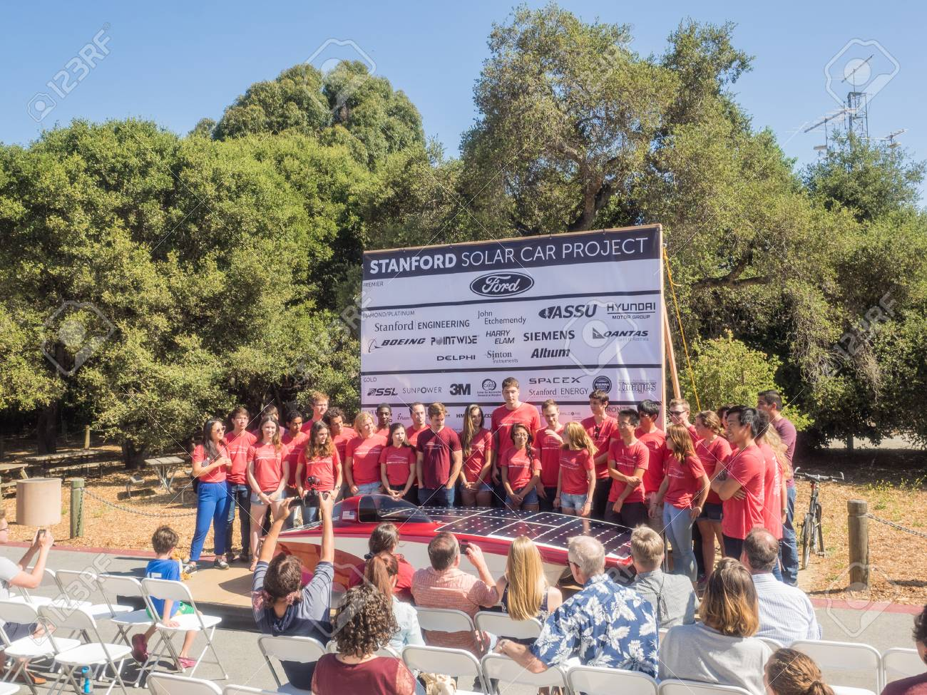 Stanford Ca Usa July 1 2017 The Solar Car Project Power