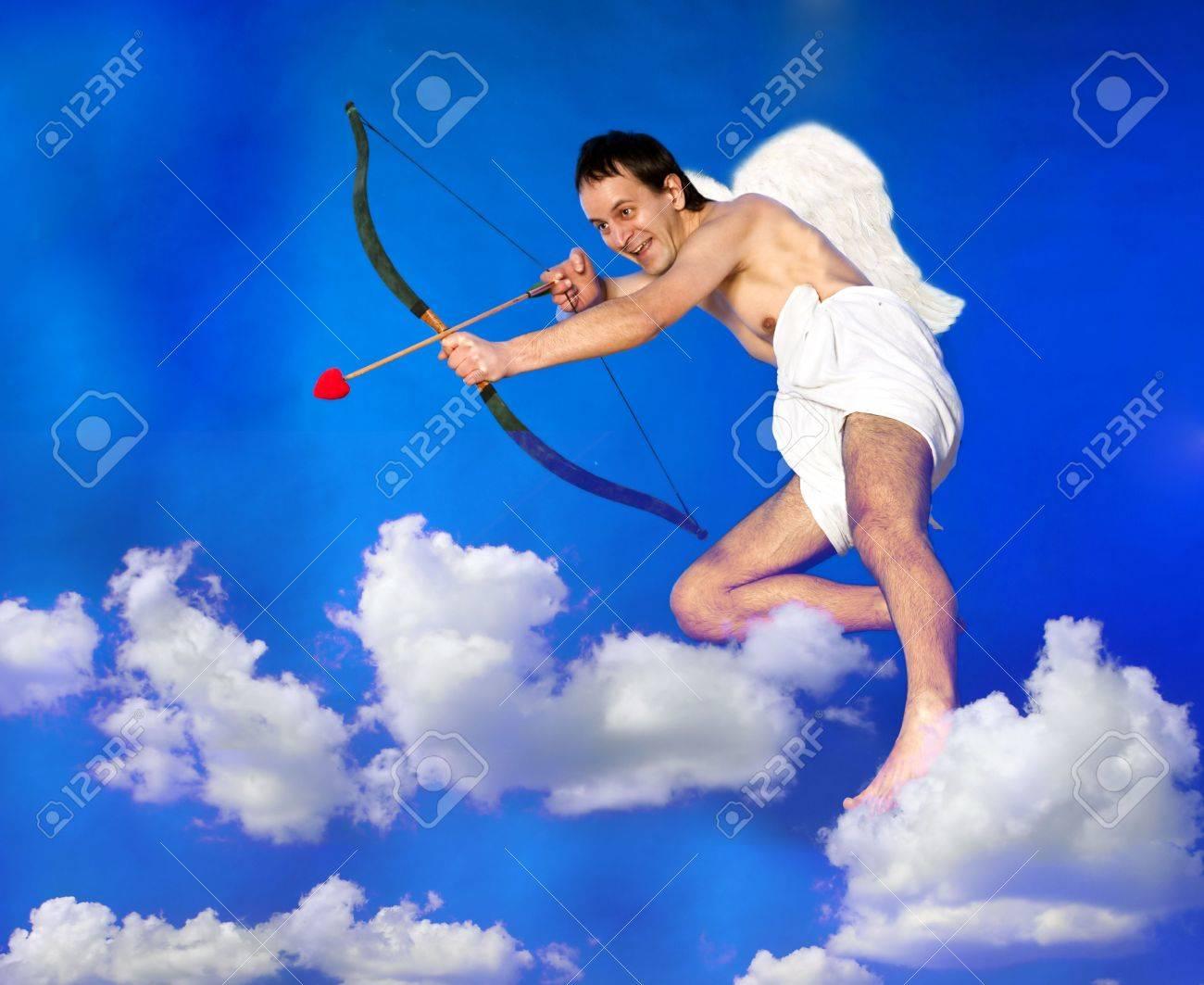 Flying Cupid Stock Photo - 6309657
