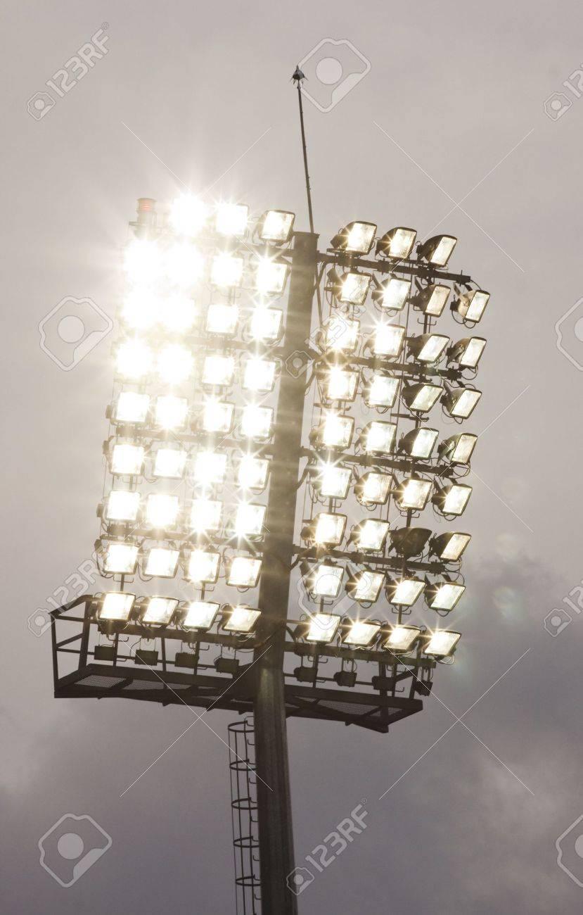 Stadium lights Stock Photo - 6963679