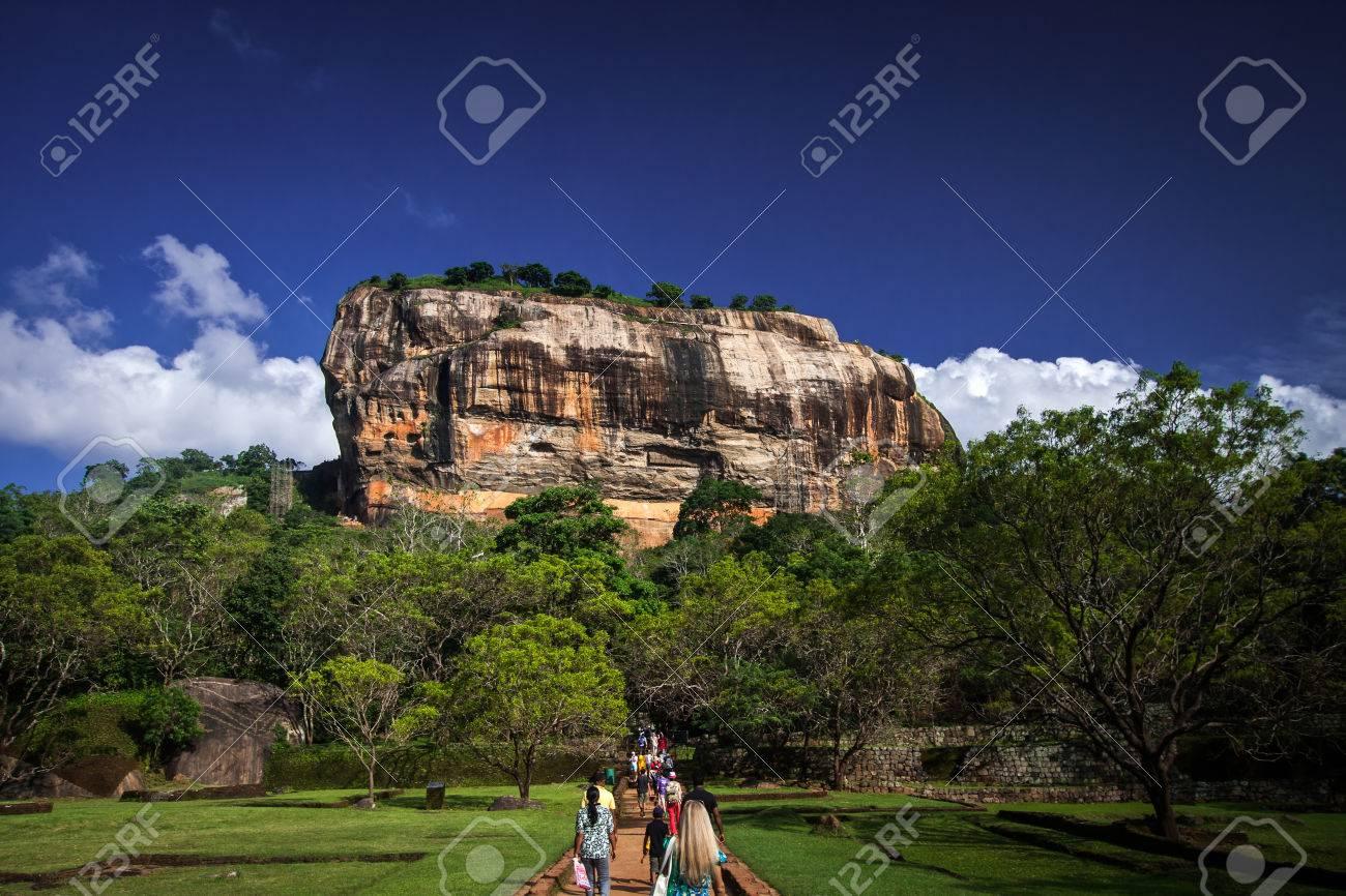 Sigiriya Lion Rock Fortress in Sri Lanka - 38670944