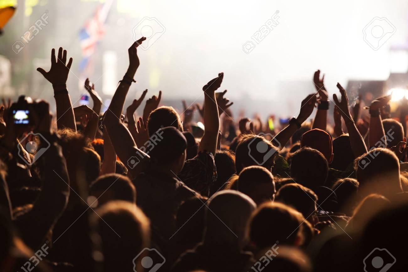 Crowd at concert - 43089664