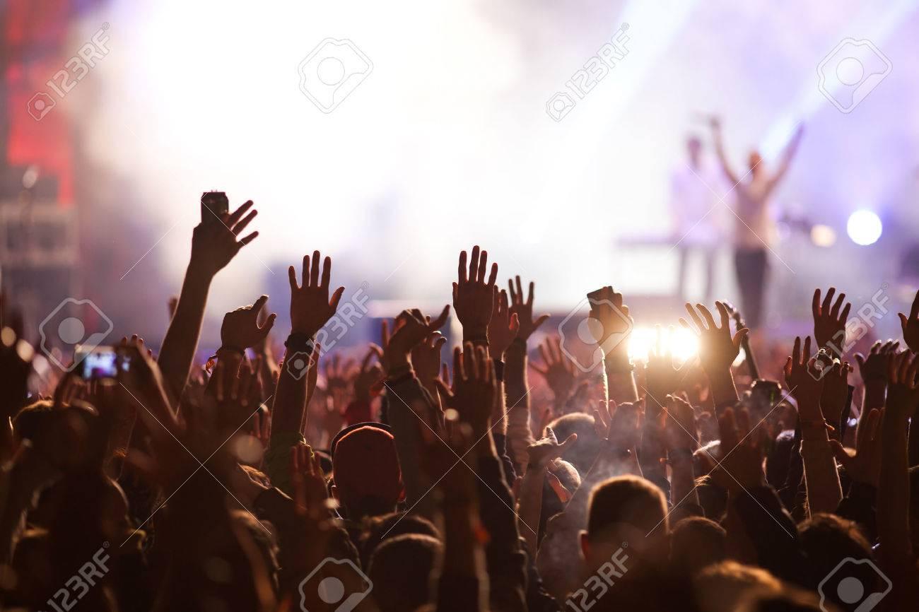 Crowd at concert - 43089671