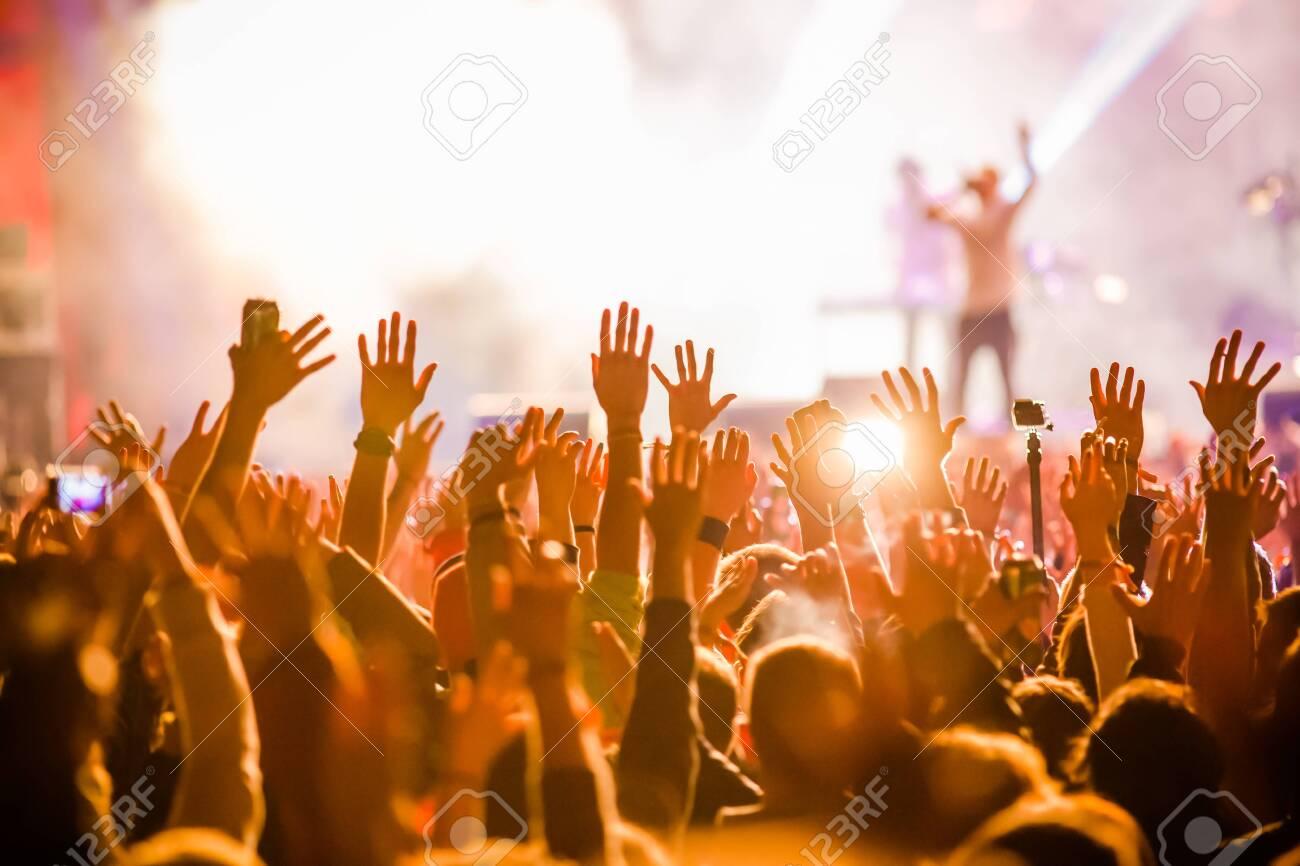 Crowd at concert - 149800837