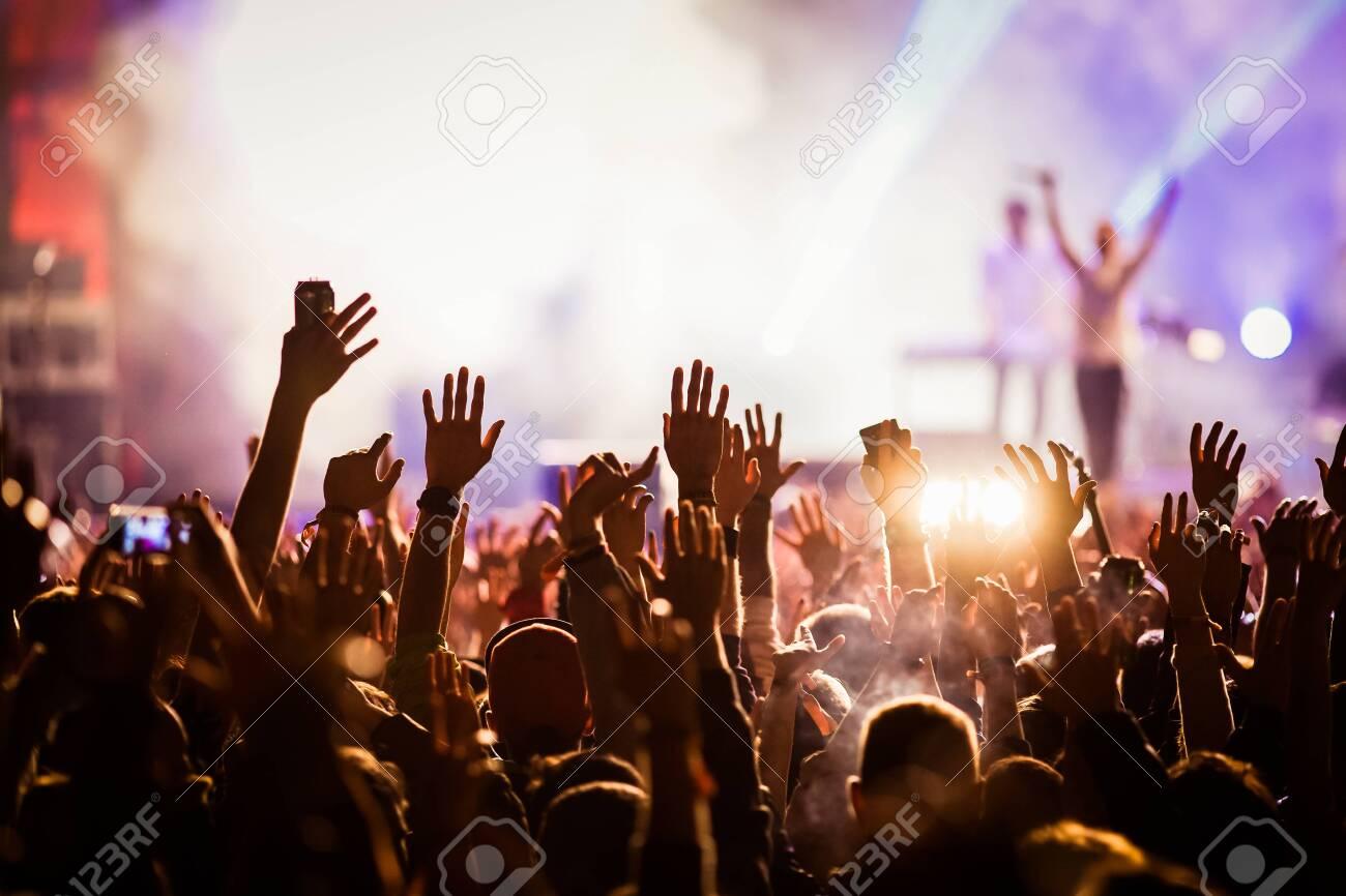Crowd at concert - 149800862