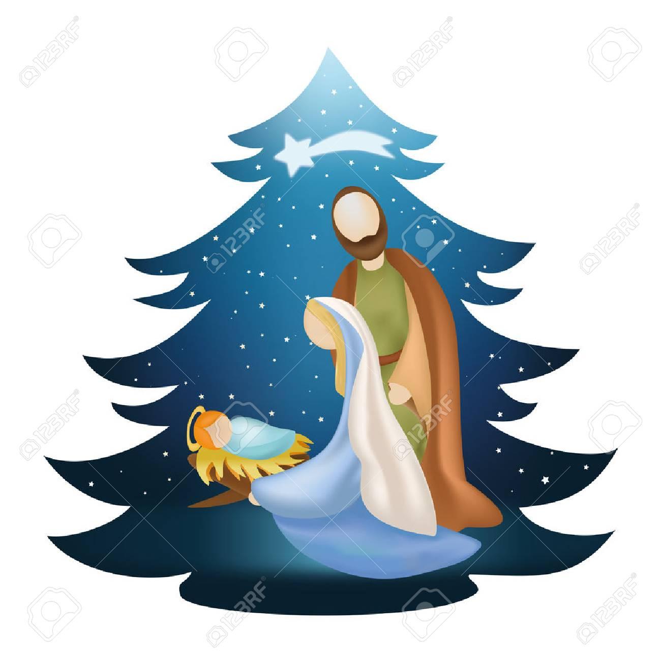 Christmas tree with Christmas tree - 89225493