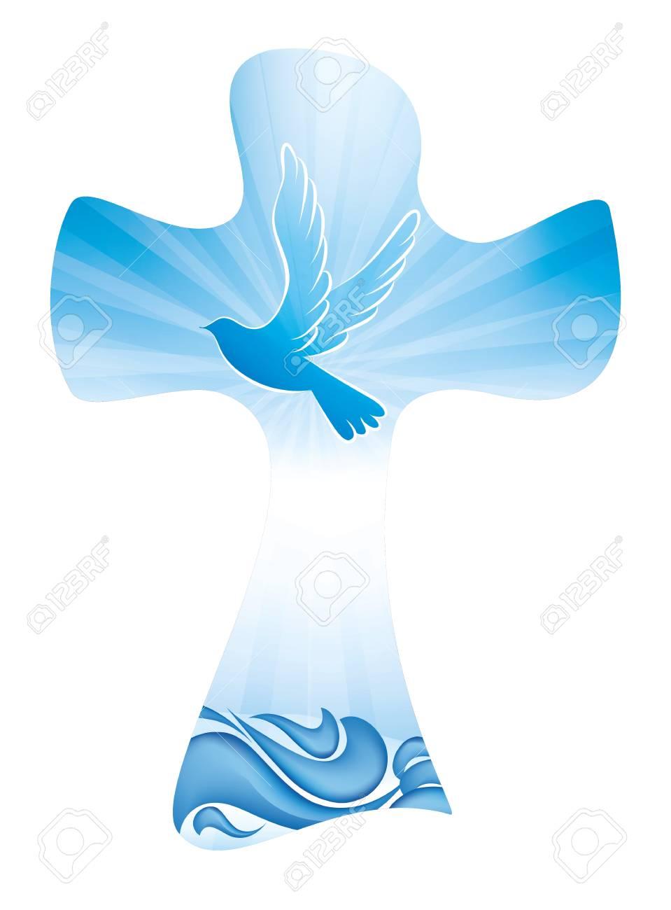 Baptism Symbol Sacraments Of The Catholic Church Eucharist - Symbol Of Baptism  Clipart (#297503) - PinClipart