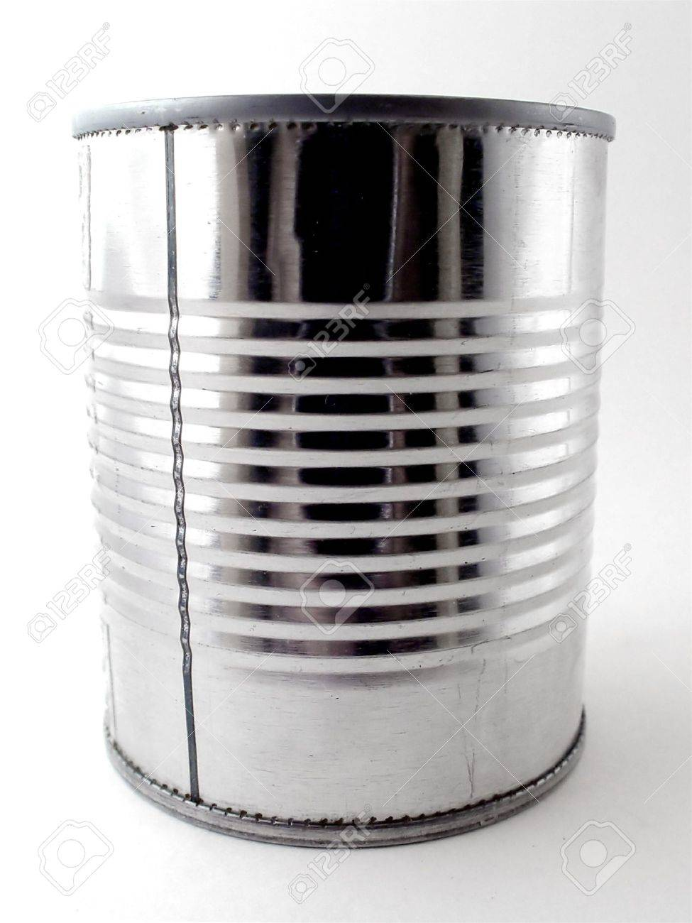 Closeup of Tin Can - 336431
