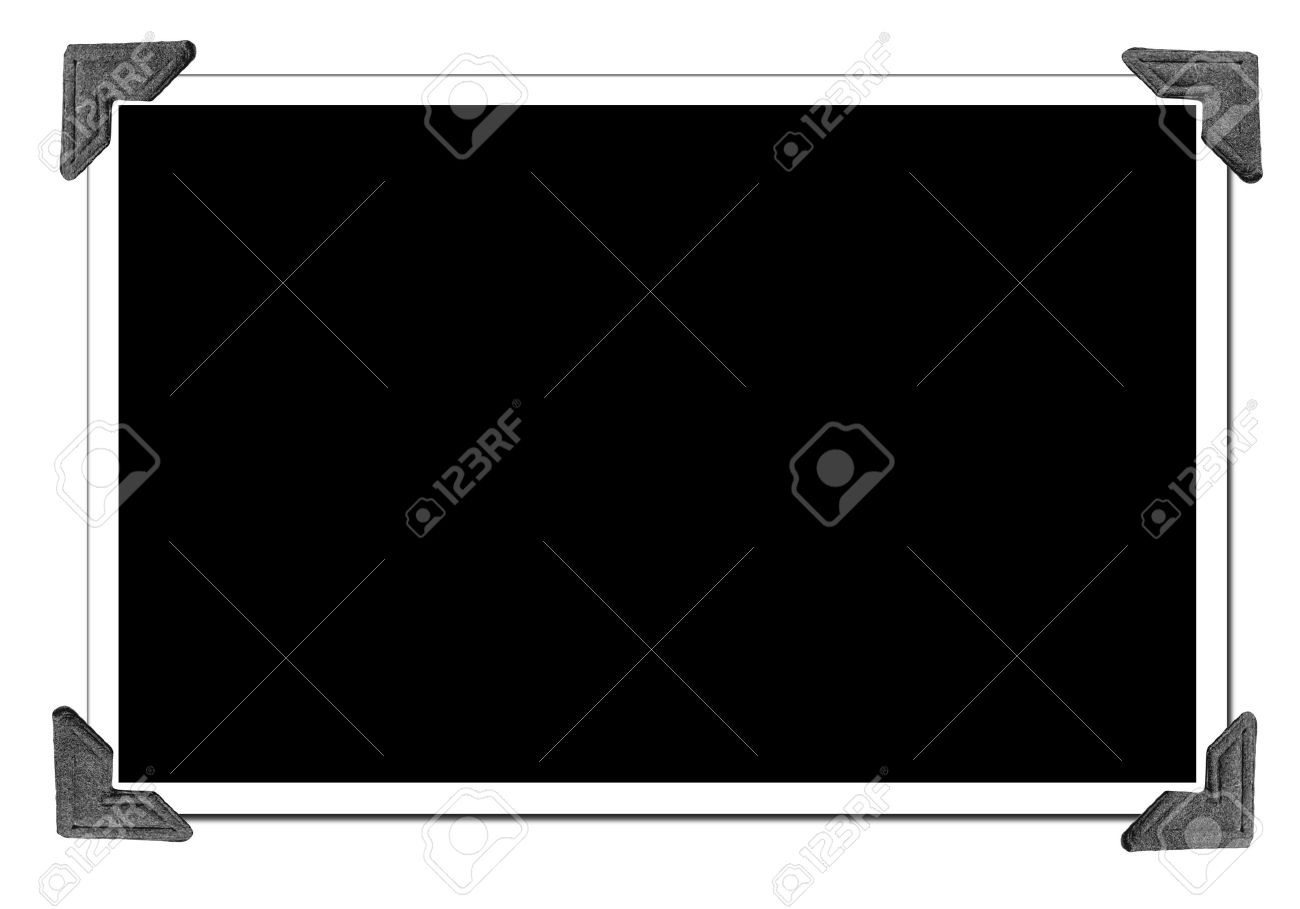 Blank Picture with photo corners - 2515734