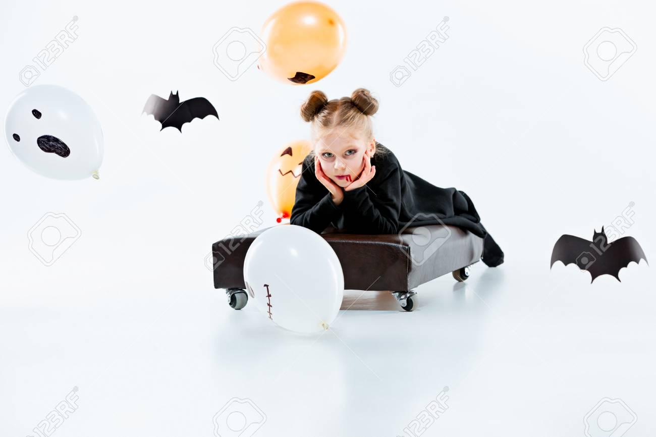 Vestido negro halloween
