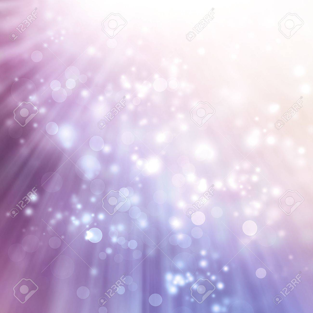 Abstract Lights on Purple Colored Background Stock Photo - 19942864