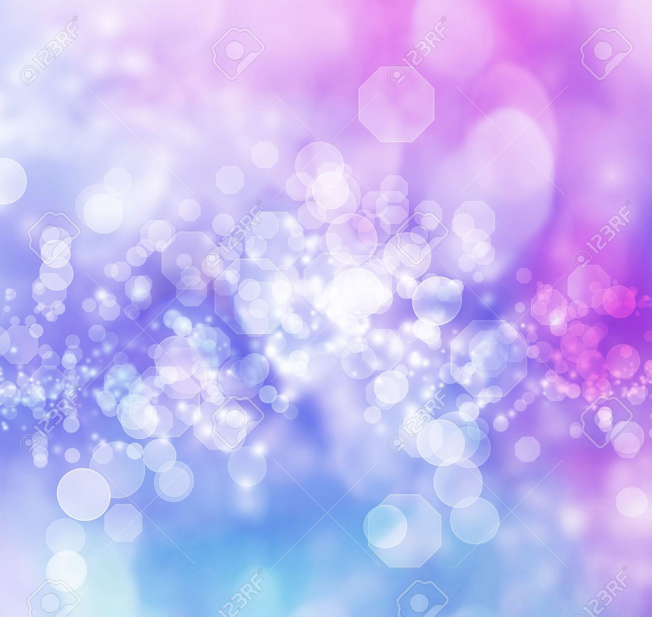 Blue and Purple Colored Abstract Lights Background Stock Photo - 20214988