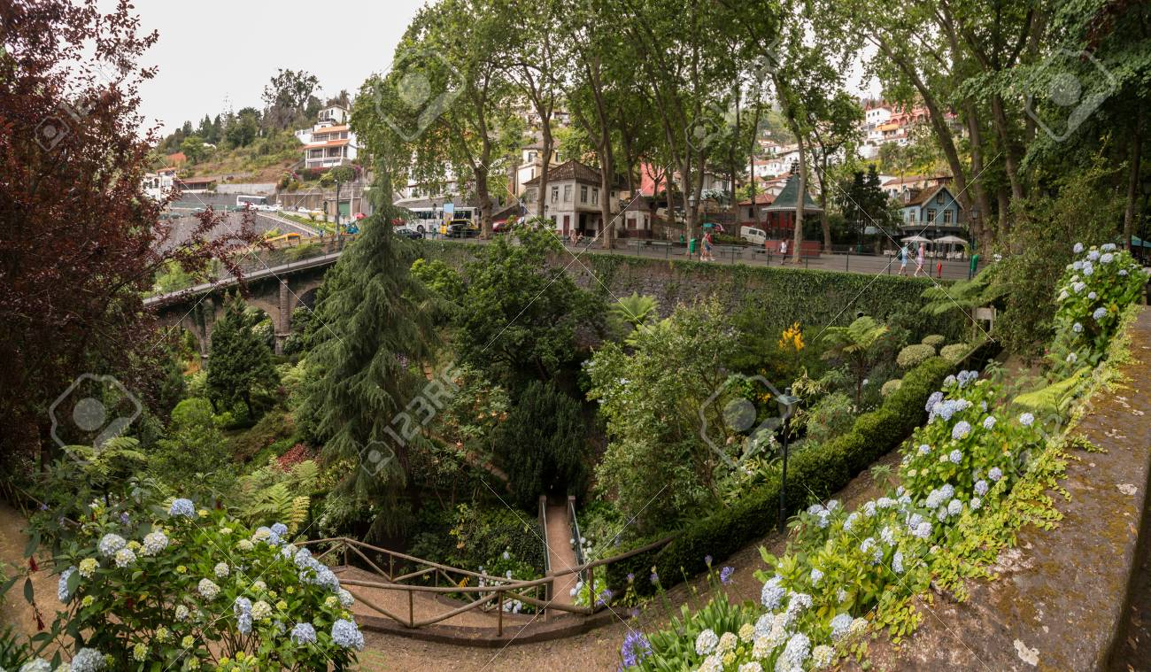 Tropical Garden Monte Palace, Located In Funchal City, Madeira ...