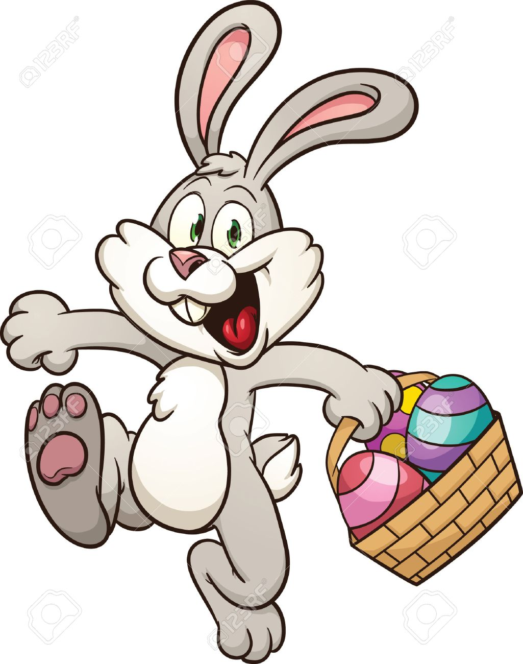 Image result for hopping easter bunny