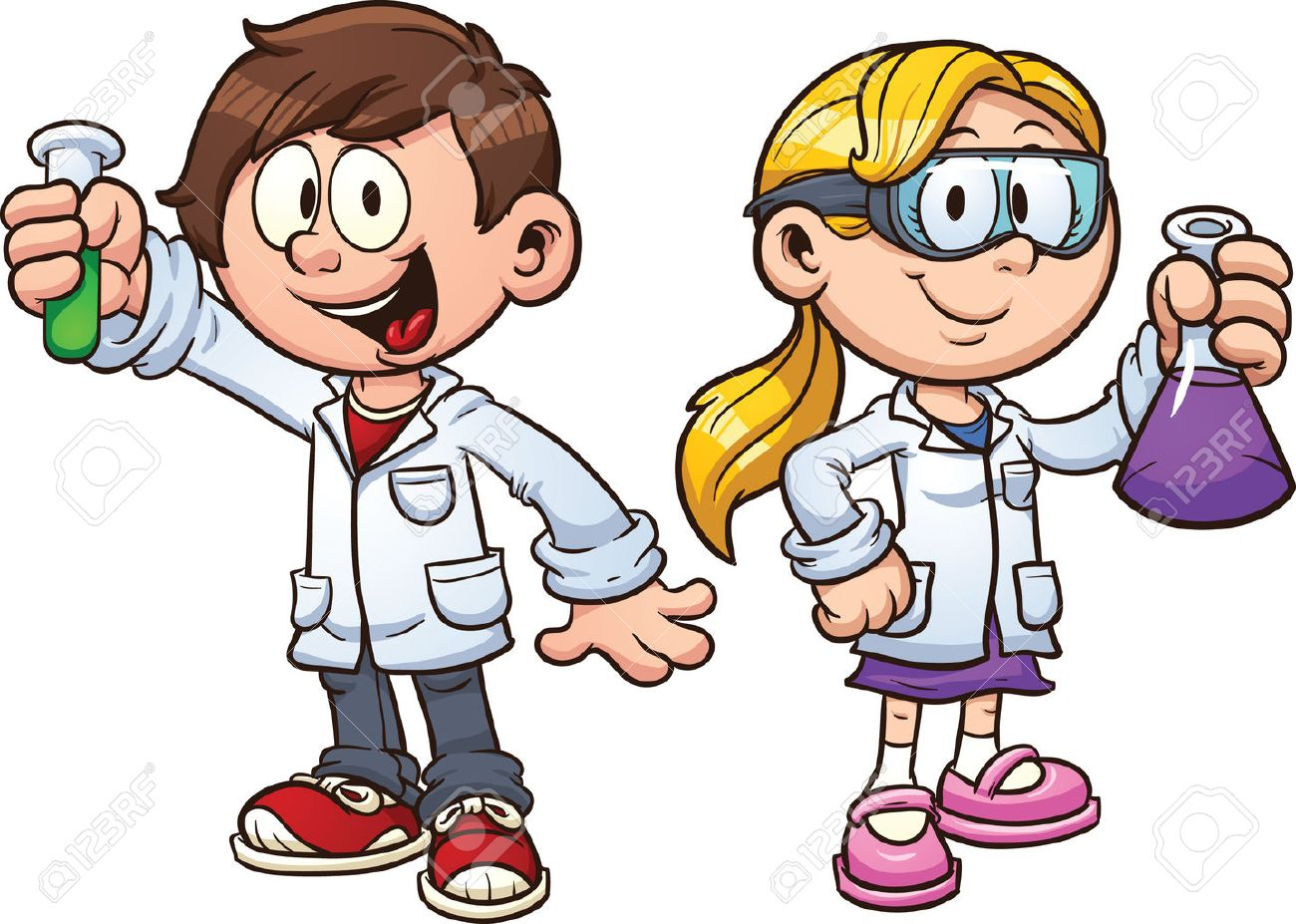 Resultado de imagen de scientists kids
