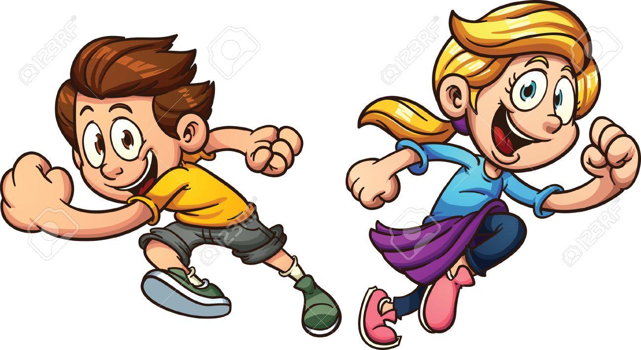 Cartoon Running Stock Photos Images. Royalty Free Cartoon Running ...