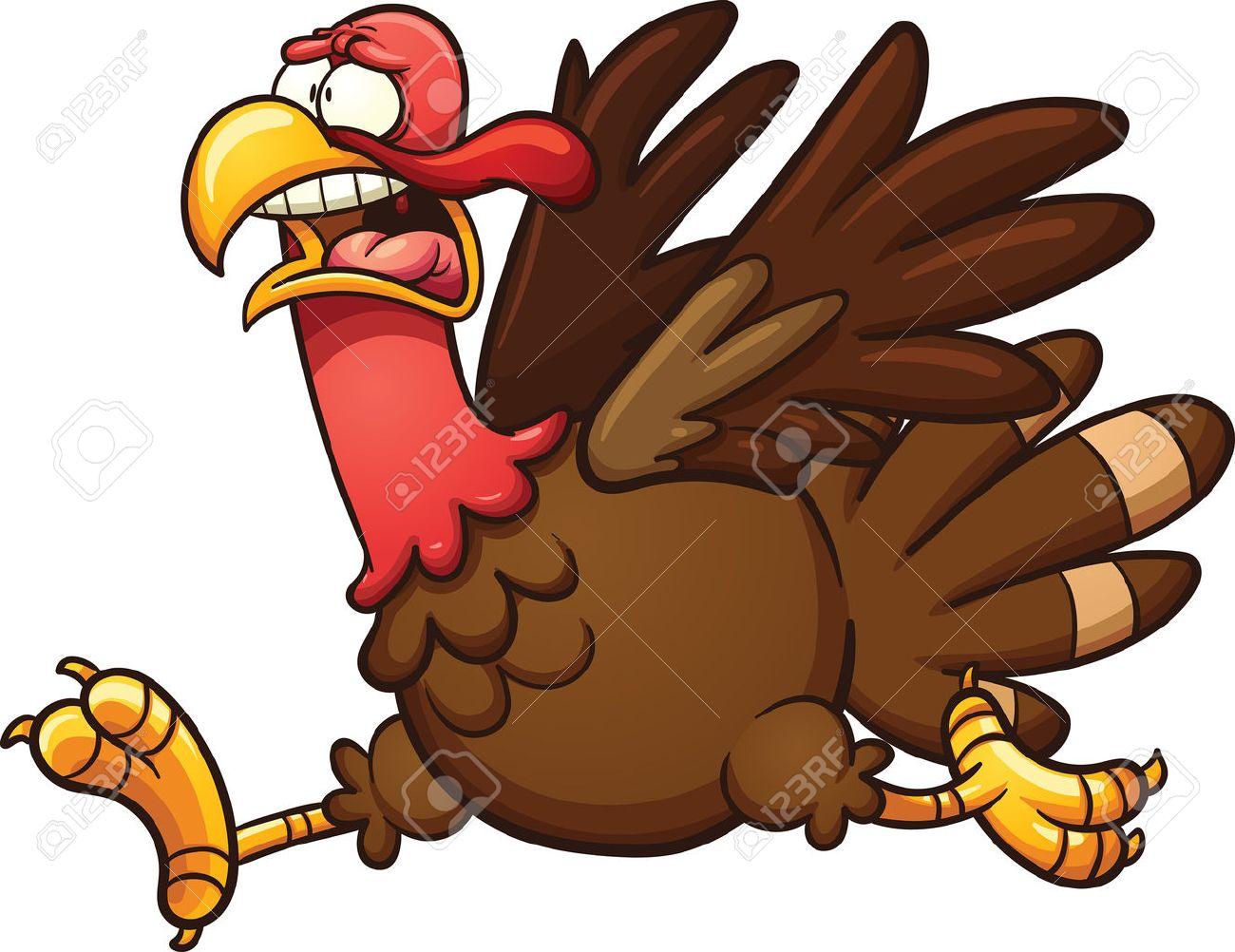 scared cartoon turkey vector clip art illustration with simple rh 123rf com cartoon turkey clipart turkey cartoons clip art