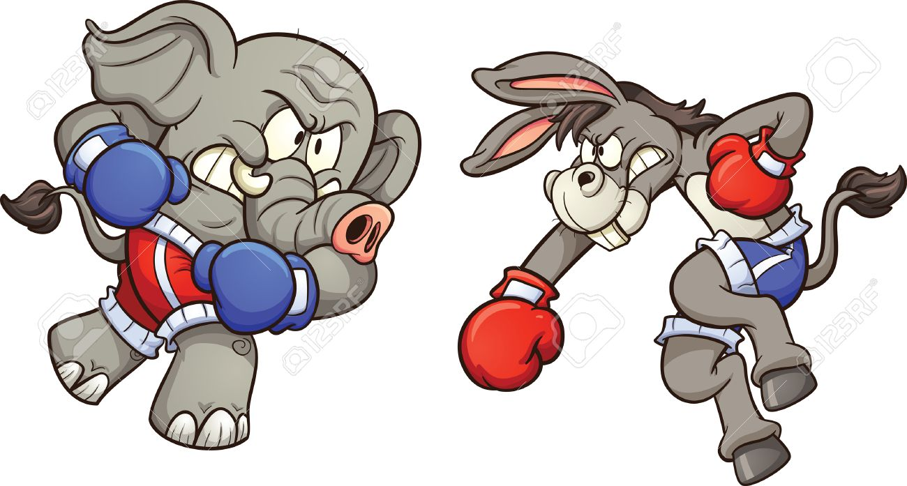https://previews.123rf.com/images/memoangeles/memoangeles1512/memoangeles151200001/49269728-democrat-cartoon-donkey-fighting-republican-elephant-vector-clip-art-illustration-with-simple-gradie.jpg