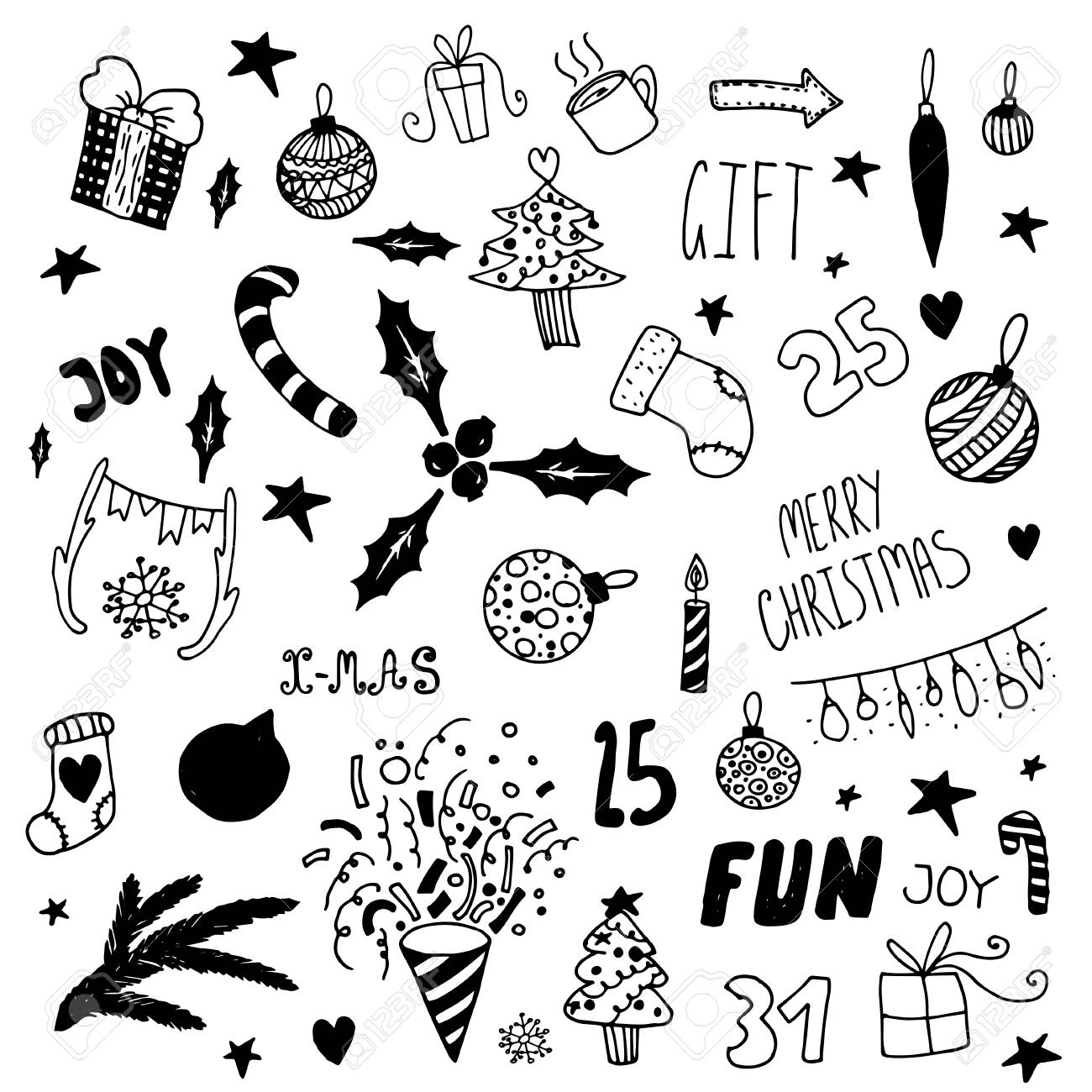 Happy New Year Doodle 15